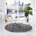 Design Tischleuchte BATARA Metall (weiß)