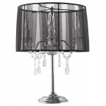 Design table BARGE metal lamp (black)
