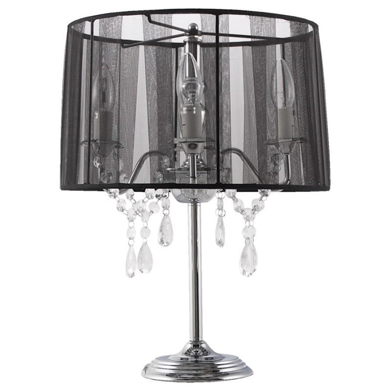Diseño de lámpara de mesa de metal BARGE (negro) - image 17371