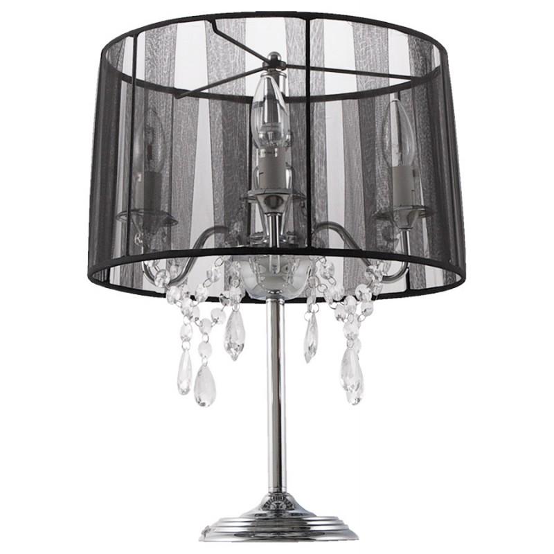 Diseño de lámpara de mesa de metal BARGE (negro) - image 17372
