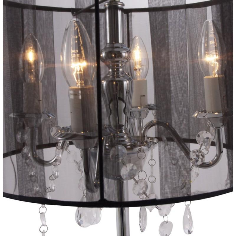 Diseño de lámpara de mesa de metal BARGE (negro) - image 17375
