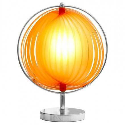 Lampe de table design BECHE SMALL en métal (orange)