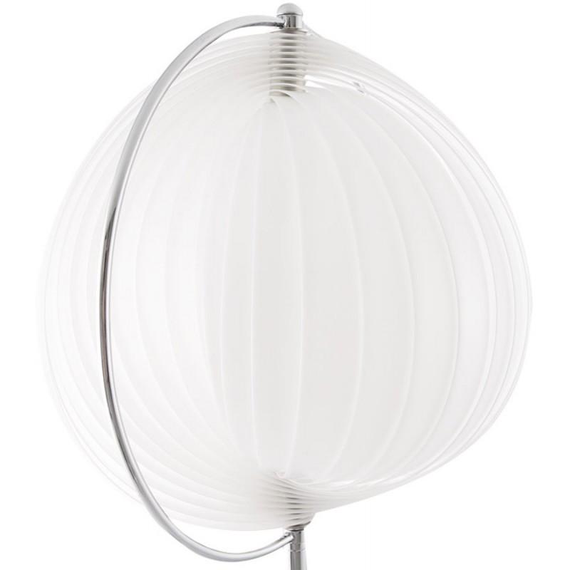 Lampe de table design BECHE SMALL en métal (blanc) - image 17405