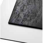 Piazza superiore del tavolo quadrato VERA polimero (60cmX60cmX3cm) (bianco)
