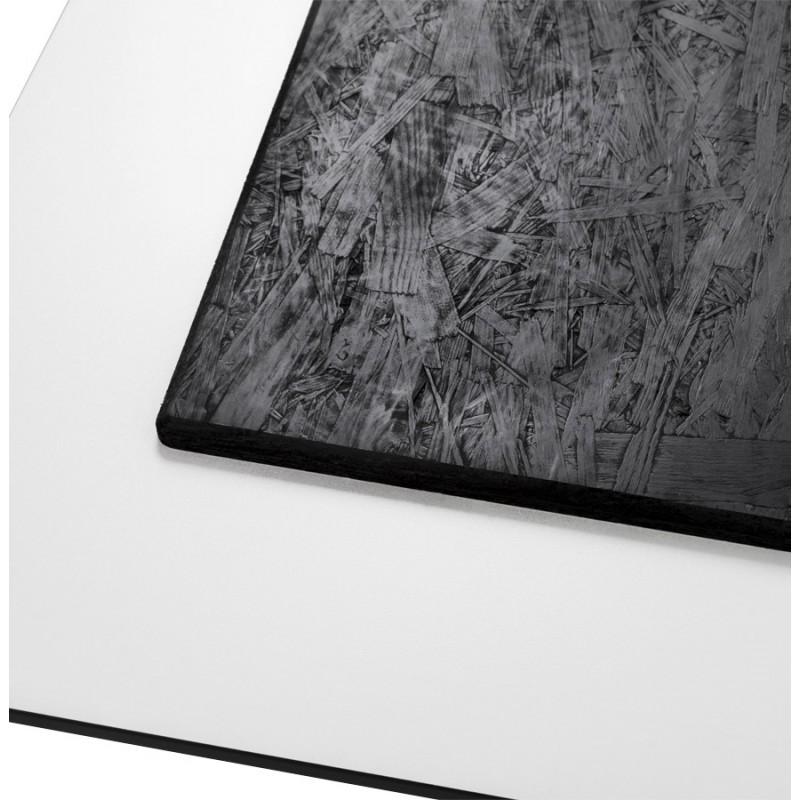 Piazza superiore del tavolo quadrato VERA polimero (60cmX60cmX3cm) (bianco) - image 17419
