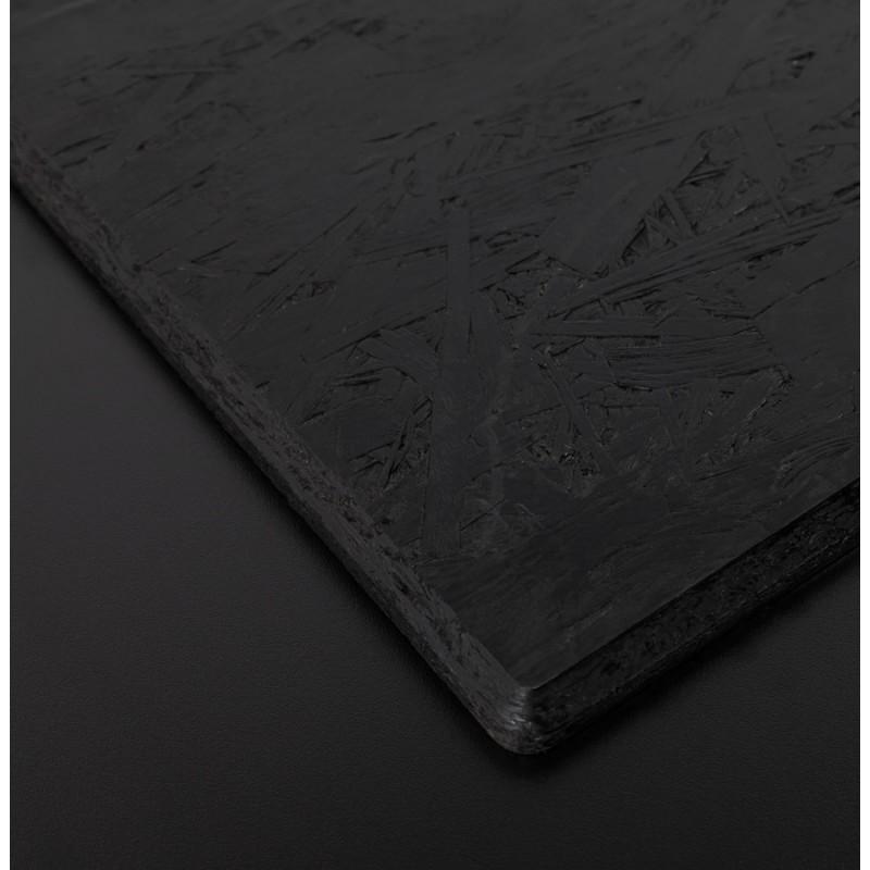 Plateau de table VERA rond en polymère (60cmX60cmX3cm) (noir) - image 17427