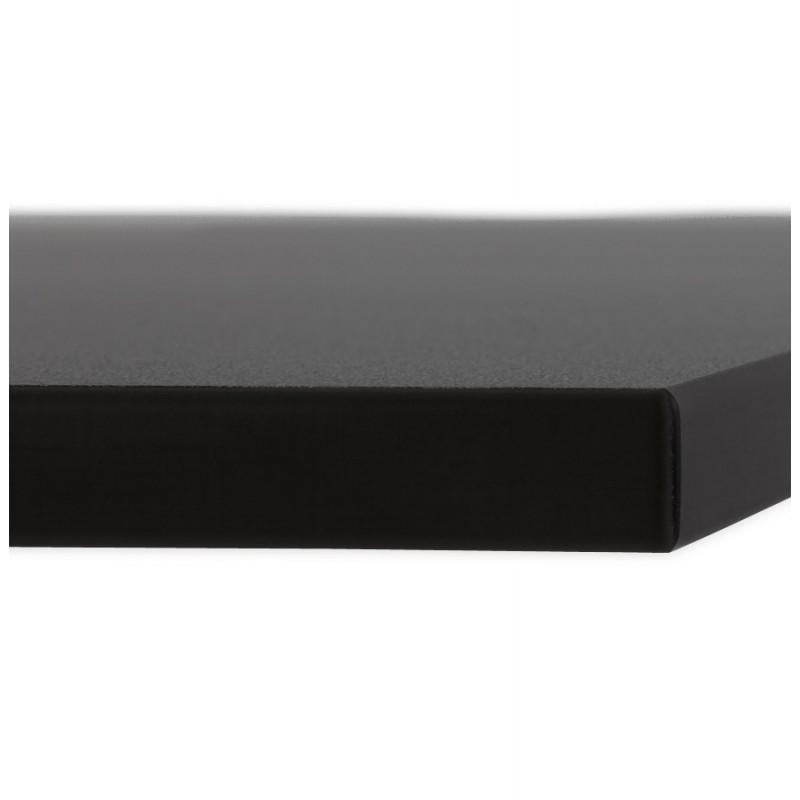 Plateau de table LILAS carré en polymère (68cmX68cmX3cm) (noir) - image 17452
