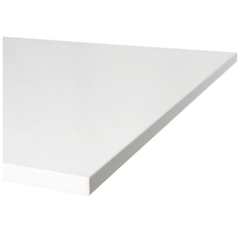 Plateau de table JASMINE carré en bois (70cmX70cmX2cm) (blanc) - image 17570