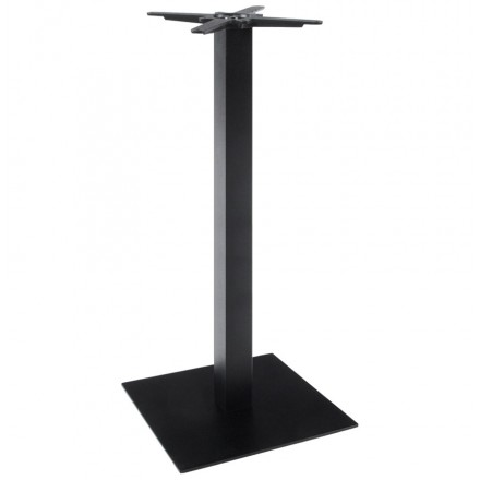 WIND square table leg without metal tray (50cmX50cmX110cm) (Black)