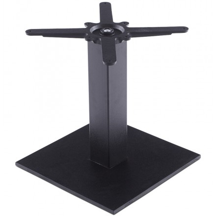 Square table leg BIZ metal (39cmX39cmX44cm) (black)