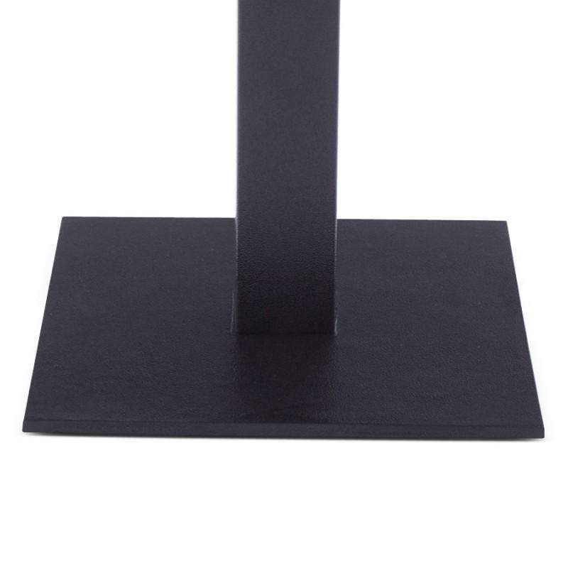 pied de table biz carr en m tal 39cmx39cmx44cm noir. Black Bedroom Furniture Sets. Home Design Ideas