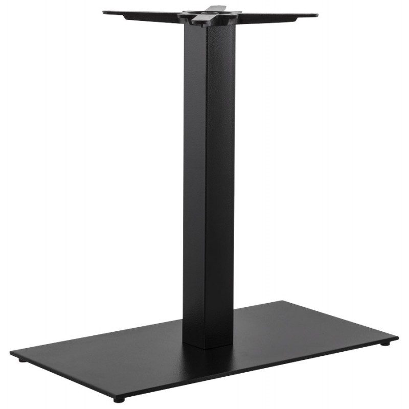 Pied de table chaire rectangulaire en m tal 40cmx75cmx75cm noir - Ikea pied de table ...