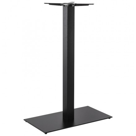 Rectangular table leg CHAIRE of metal (40cmX75cmX110cm) (black)