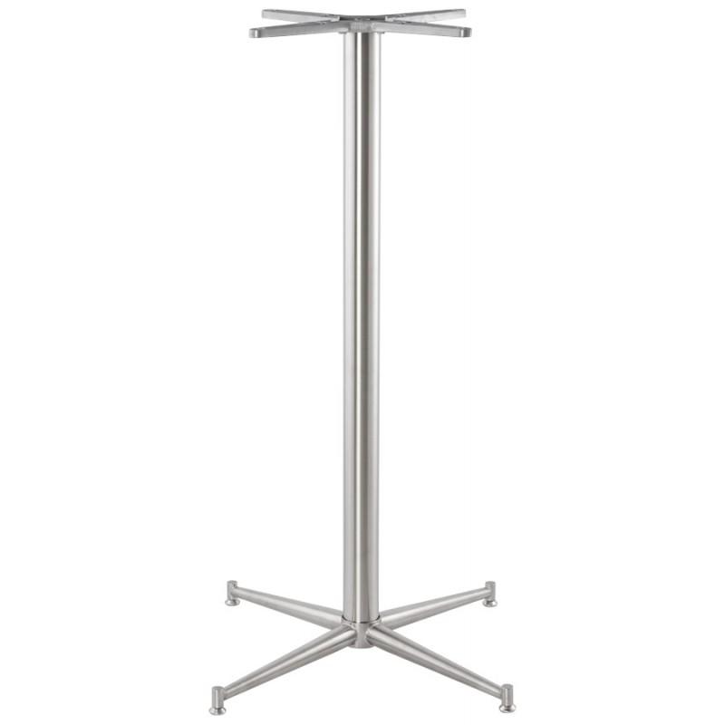 Pied de table veron forme croix en m tal 70cmx70cmx113cm - Pied de table en metal ...