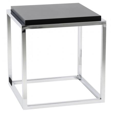KVADRA side table wooden or derived (black)