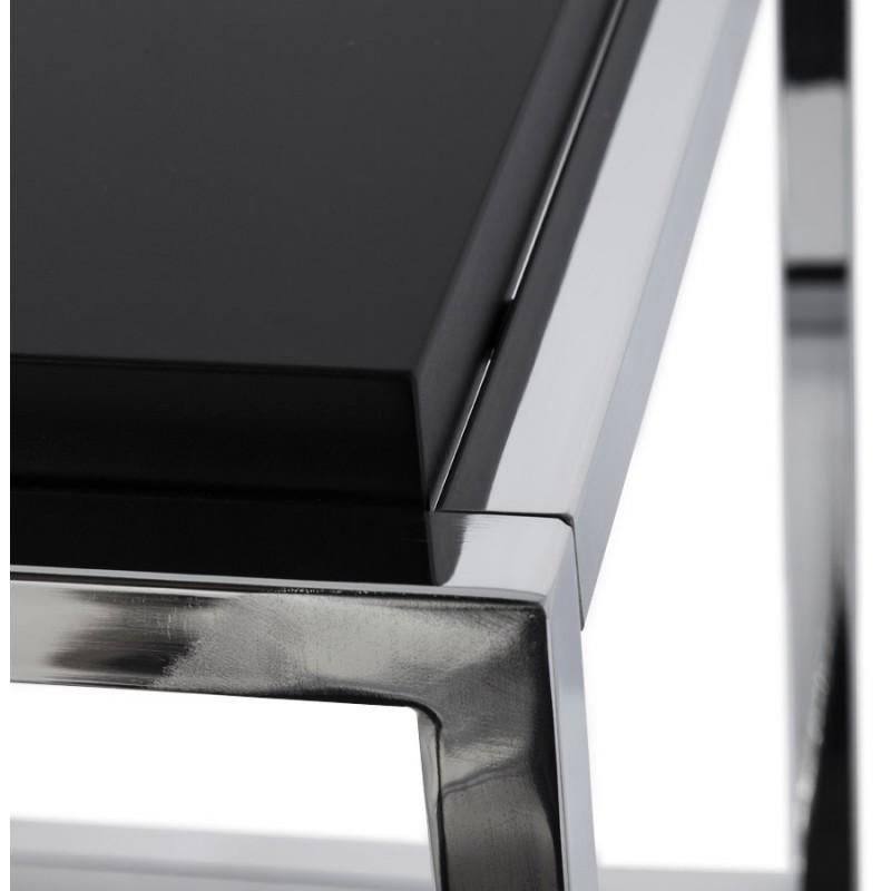 KVADRA side table wooden or derived (black) - image 17835