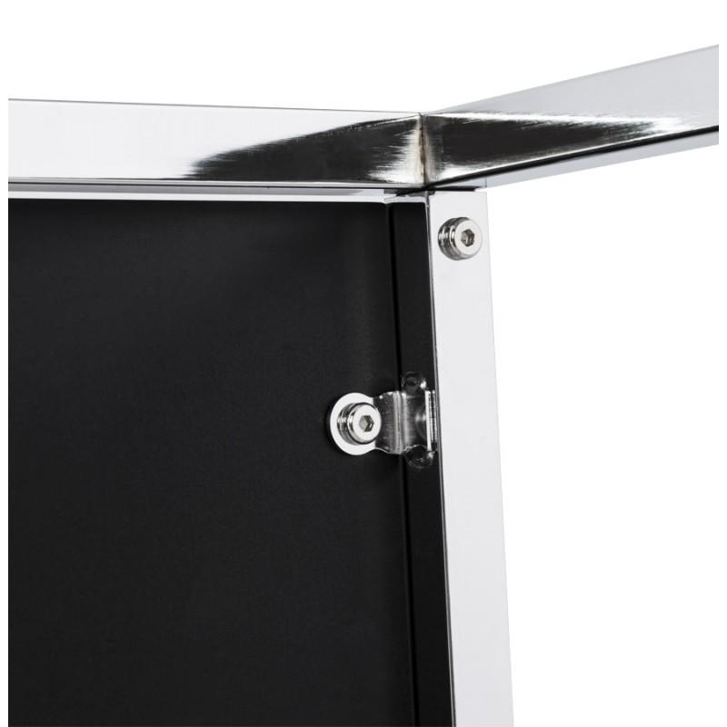 KVADRA side table wooden or derived (black) - image 17838