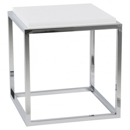 KVADRA side table wooden or derived (white)
