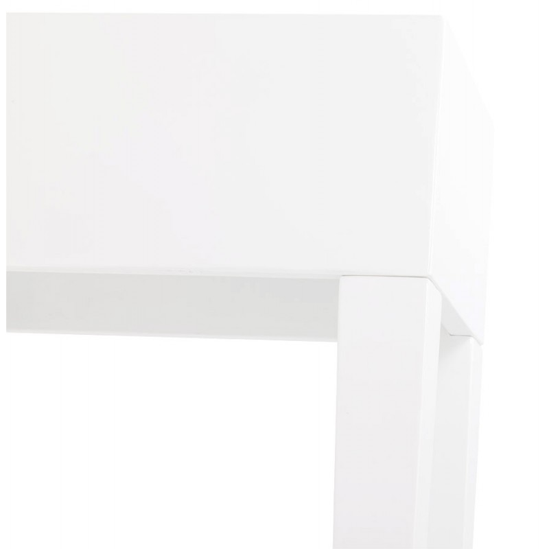 Table console TIPKA wood (MDF) covered with polyurethane (white) - image 17856