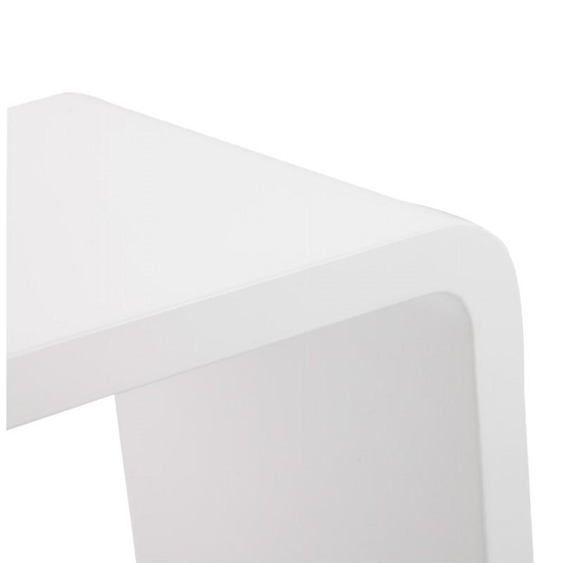 Mesa laca RECTO madera (MDF) (blanco) - image 17925