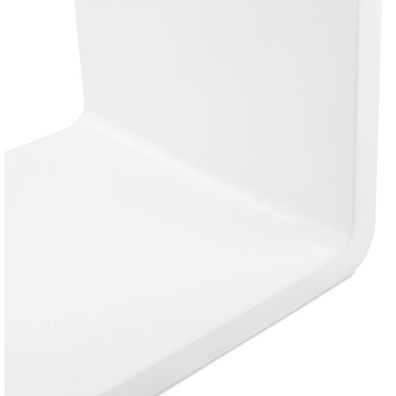 Mesa laca RECTO madera (MDF) (blanco) - image 17926