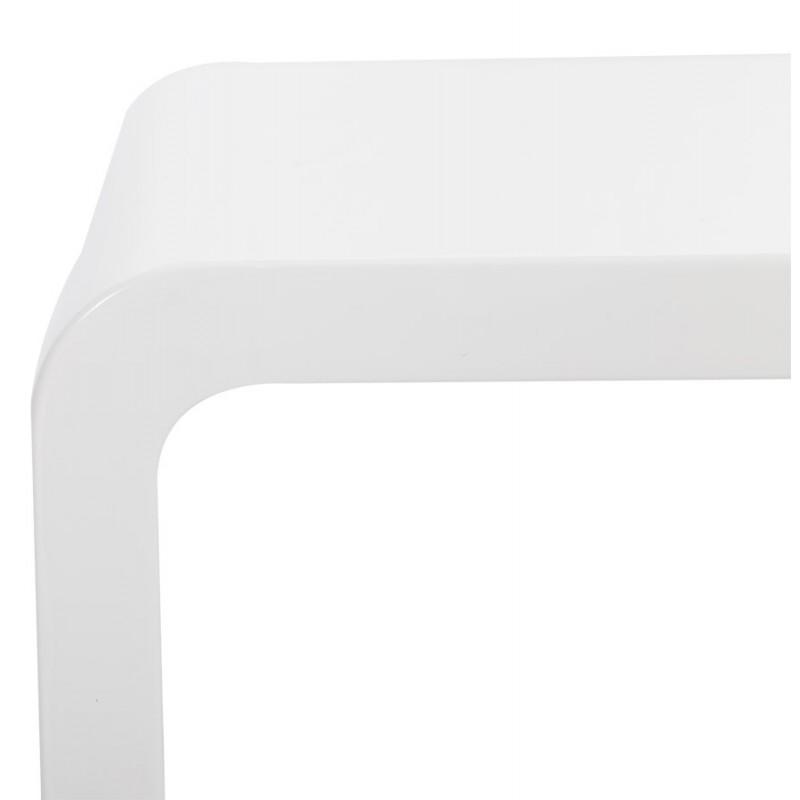 Mesa laca RECTO madera (MDF) (blanco) - image 17929