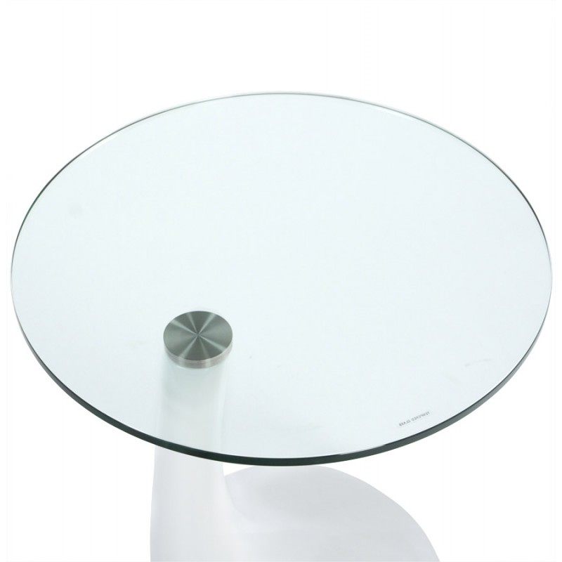 Console or table TARN tempered fiberglass (white) - image 17955