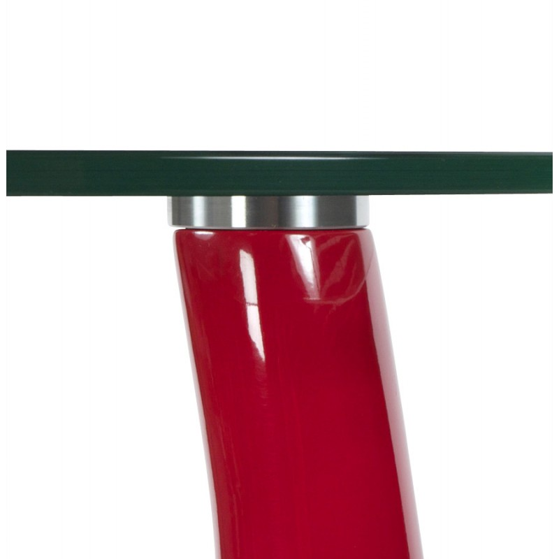 Console or table TARN tempered glass fibre (red) - image 17966