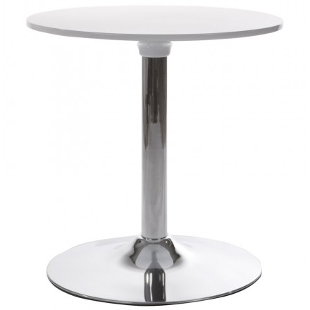 Round table MARS metalerial and ABS (mat! resistant plastic era) (white)