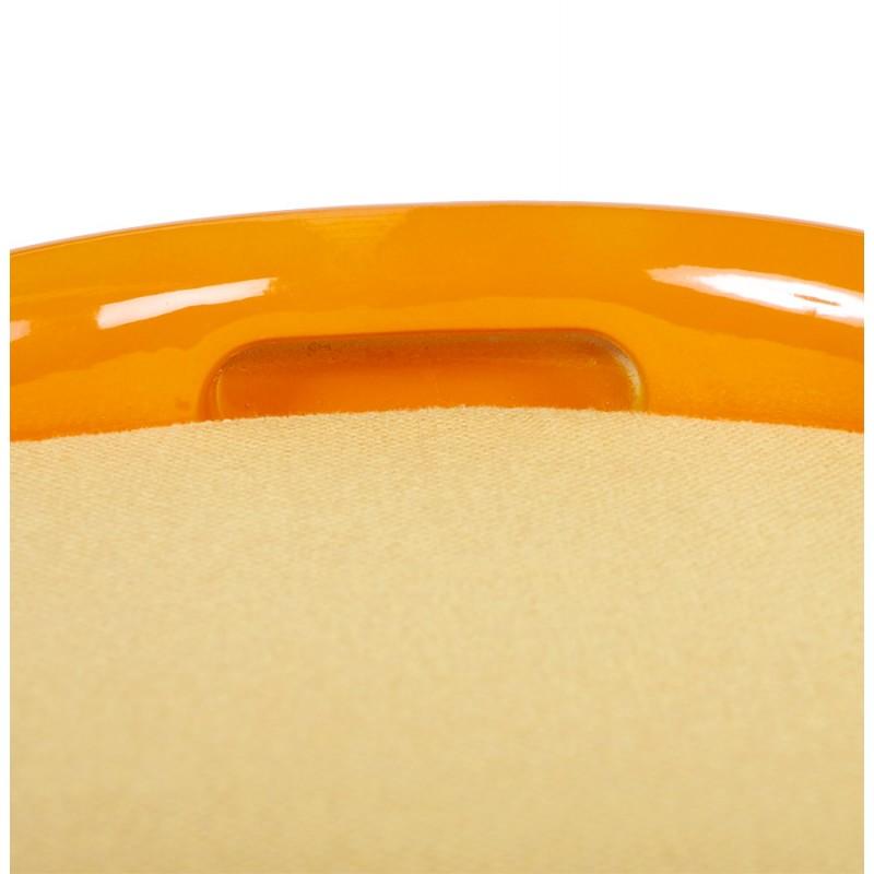 Tabouret coffre YONNE en ABS (matière plastique résistante) (orange) - image 18027