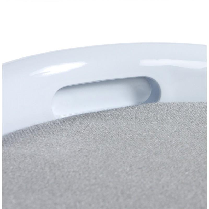 Tabouret coffre YONNE en ABS (matière plastique résistante) (blanc) - image 18051