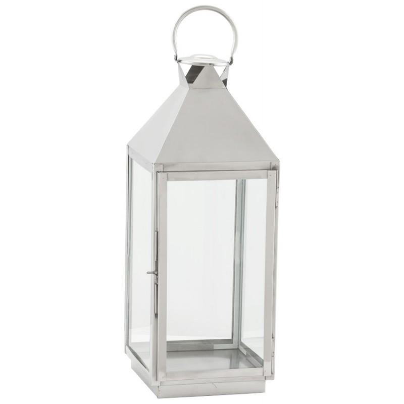 Lanterne DRONGO en aluminium (petit modèle) (argent) - image 18065