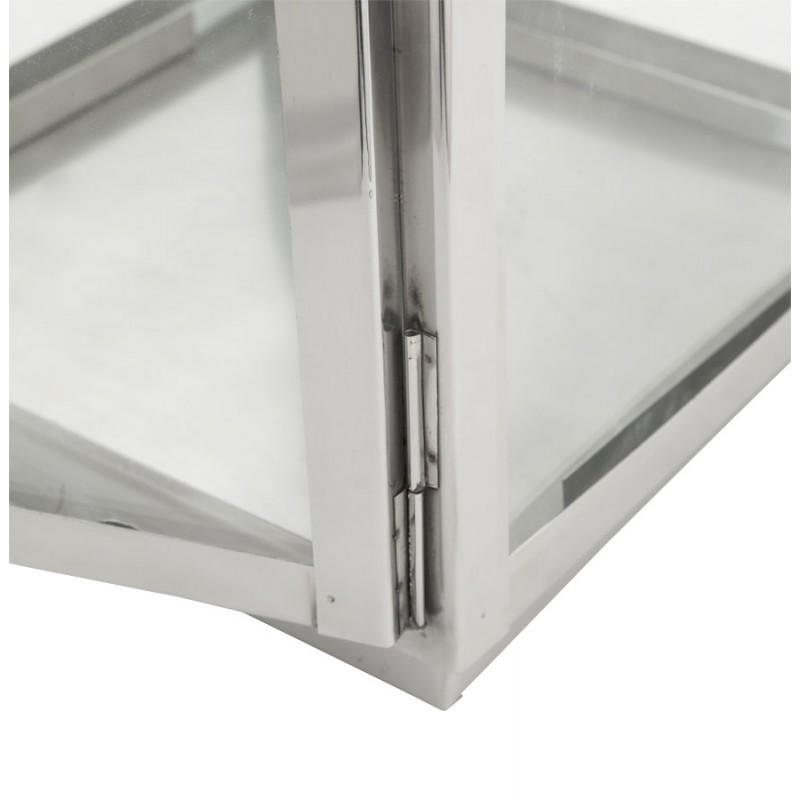 Lanterne DRONGO en aluminium (petit modèle) (argent) - image 18069