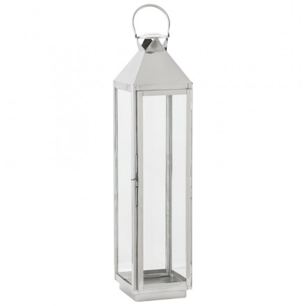 Lanterna DRONGO in aluminio (grande) (argento)