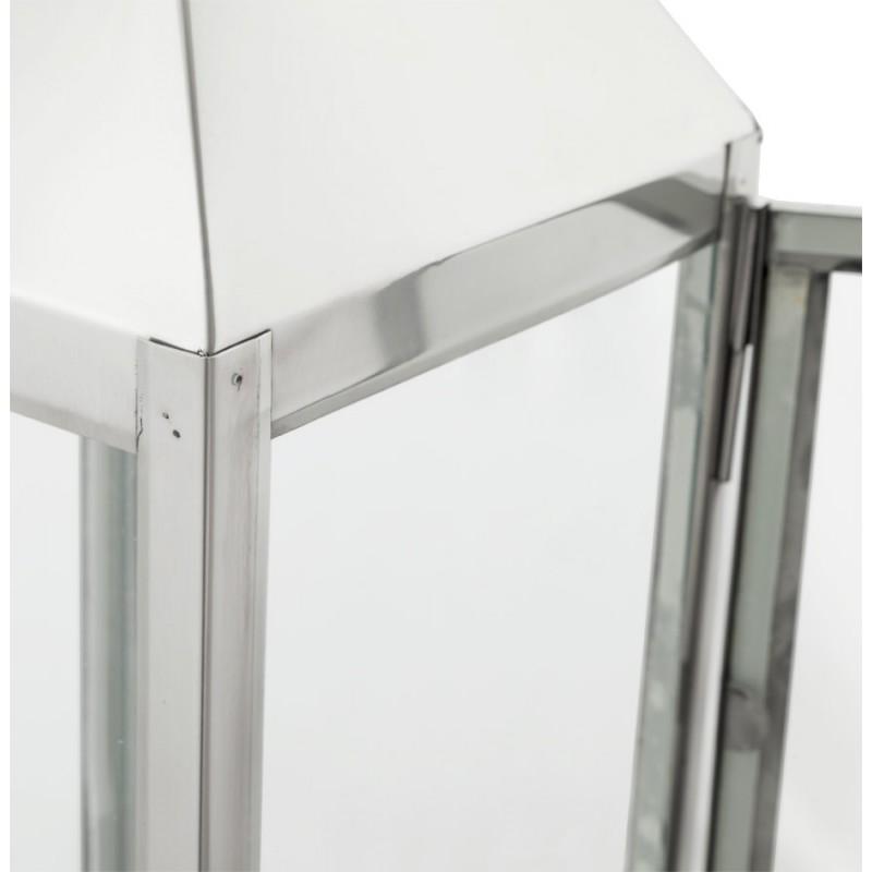 Lanterne DRONGO en aluminium (grand modèle) (argent) - image 18077
