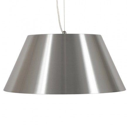 Suspended lamp BARE metal (Silver)