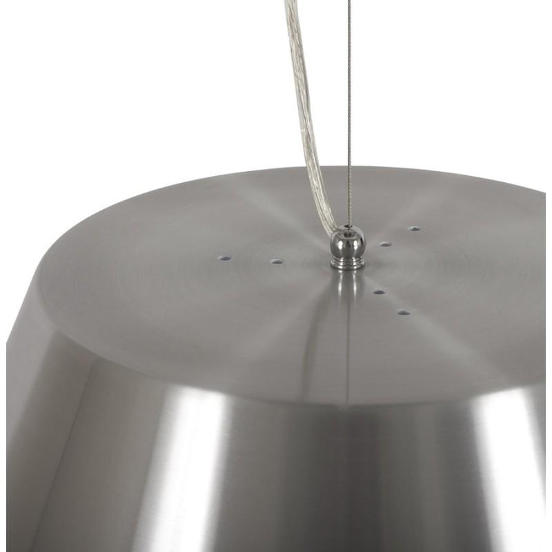 Lampe suspendue BARE en métal (argent) - image 18087