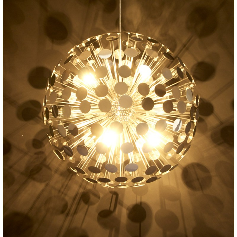 Lampe suspendue design CALAO en métal (chromé) - image 18090