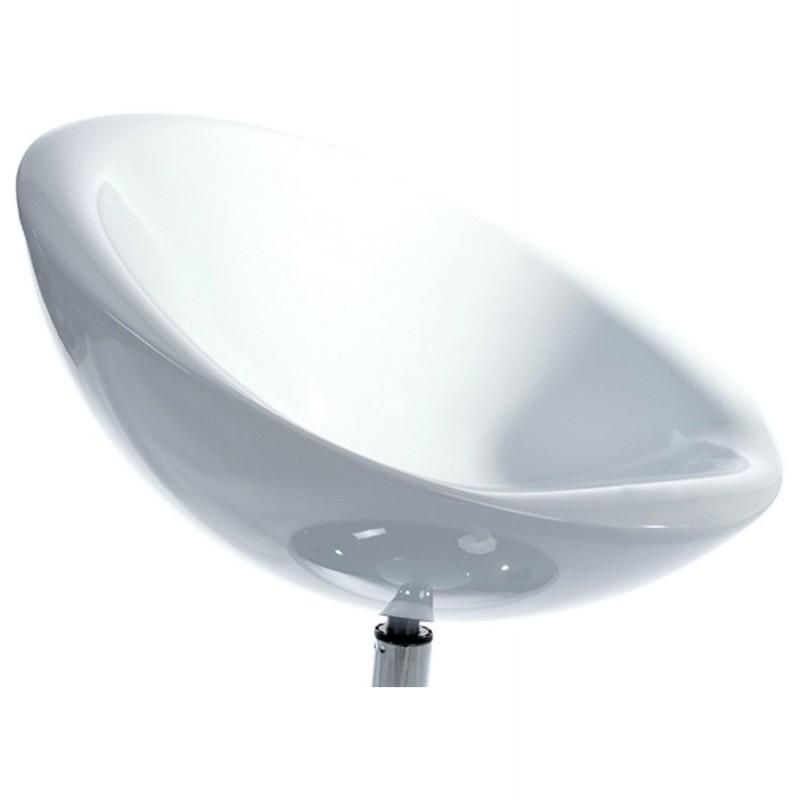 Poltrona LOIRE design sfera in ABS (bianco) - image 18144