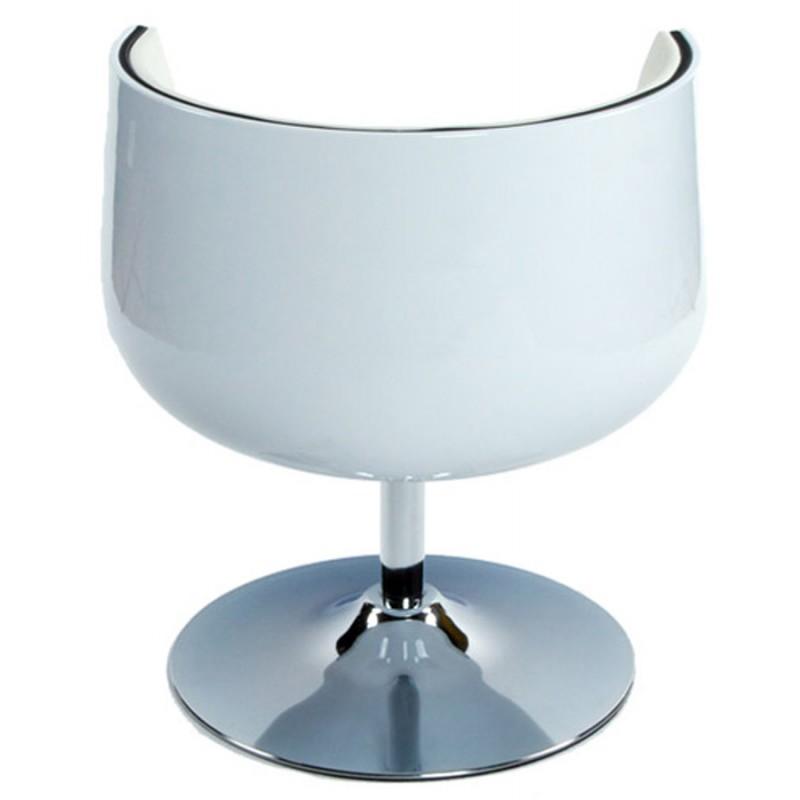 Fauteuil design TARN rotatif (blanc) - image 18264