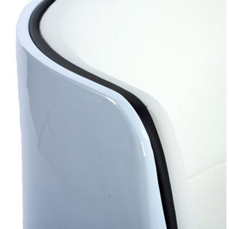 Fauteuil design TARN rotatif (blanc) - image 18265