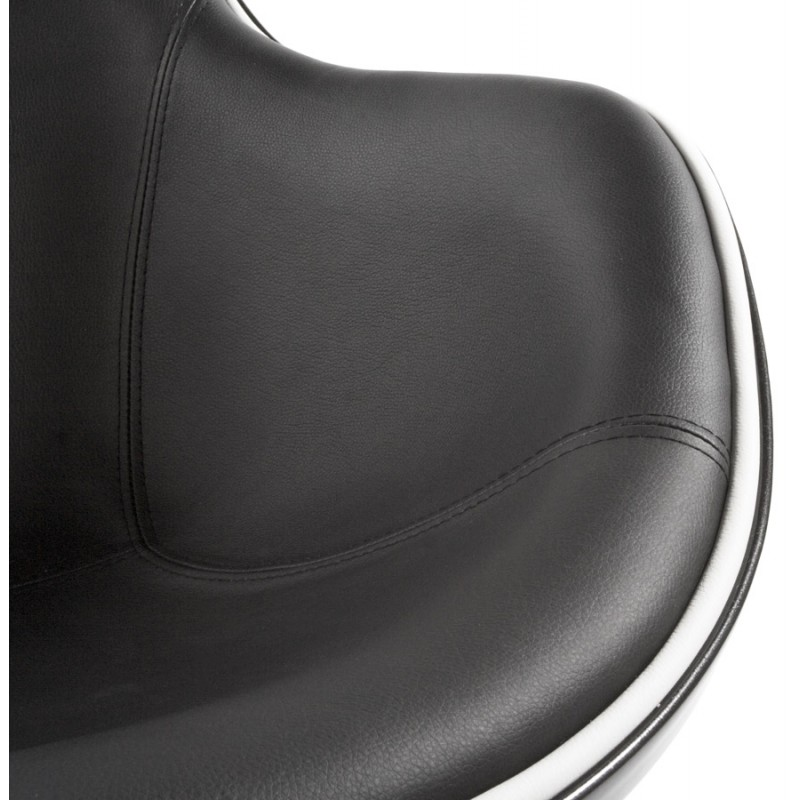Fauteuil design RHONE rotatif (noir) - image 18270