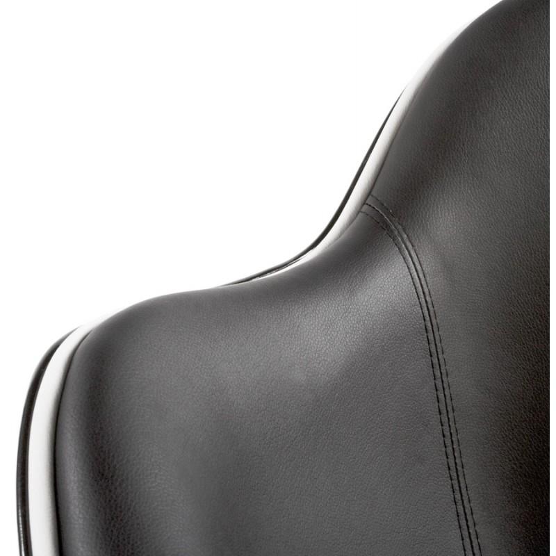 Fauteuil design RHONE rotatif (noir) - image 18271