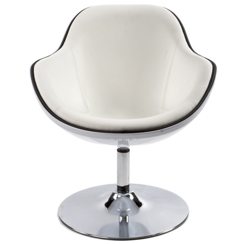 Fauteuil design RHONE rotatif (blanc) - image 18287