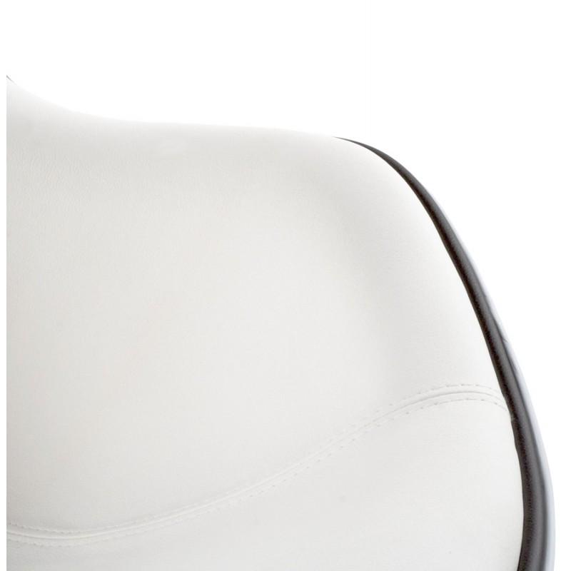 Fauteuil design RHONE rotatif (blanc) - image 18288