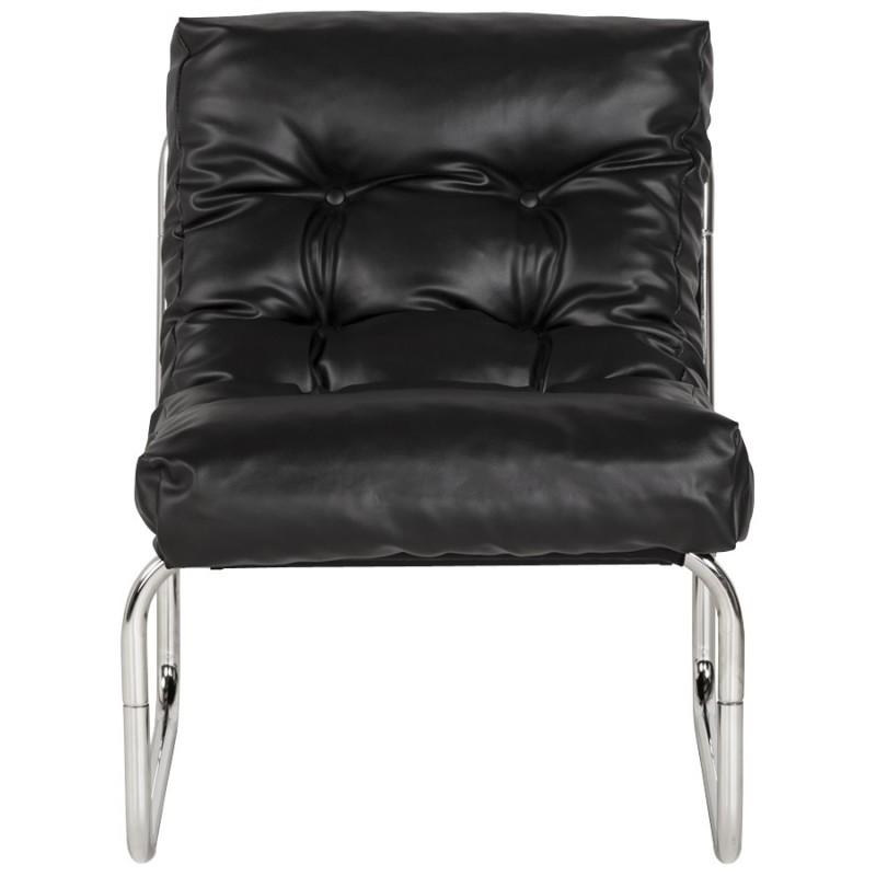 Fauteuil lounge SEINE en polyuréthane (noir) - image 18293