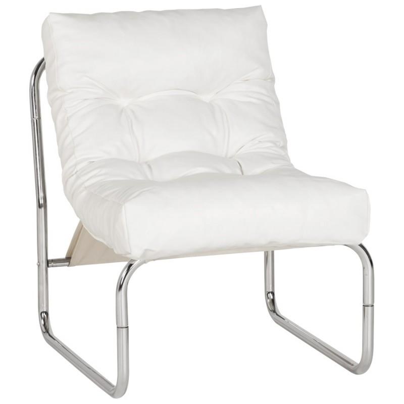 Fauteuil lounge SEINE en polyuréthane (blanc) - image 18302