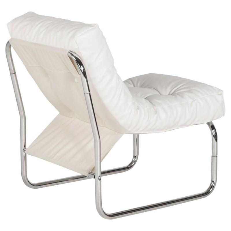 Fauteuil lounge SEINE en polyuréthane (blanc) - image 18305