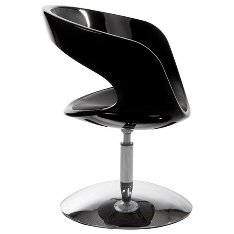 Fauteuil design RHIN en ABS (polymère à haute résistance) (noir) - image 18314