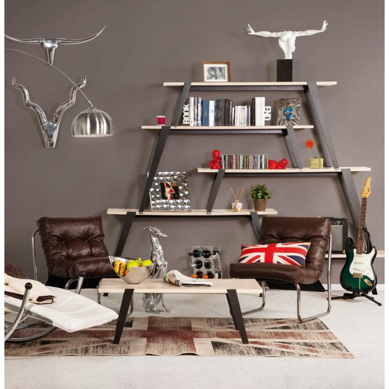 Design lounge Sessel ISERE polyurethan (braun) - image 18401